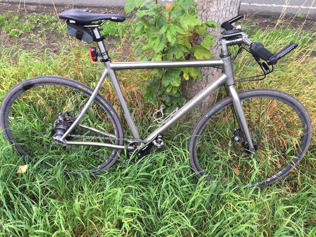 Cyclocross Titanium Speedbike Rewel