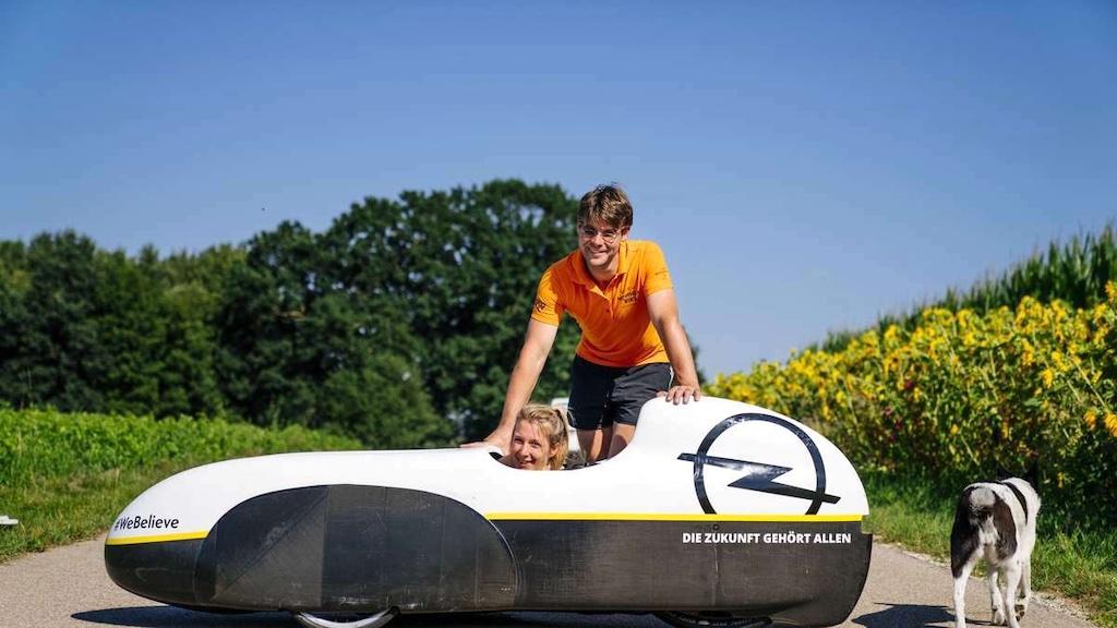 Nici Nicola Walde Daniel Duesentrieb Fenn Weltrekord Velomobil 24h