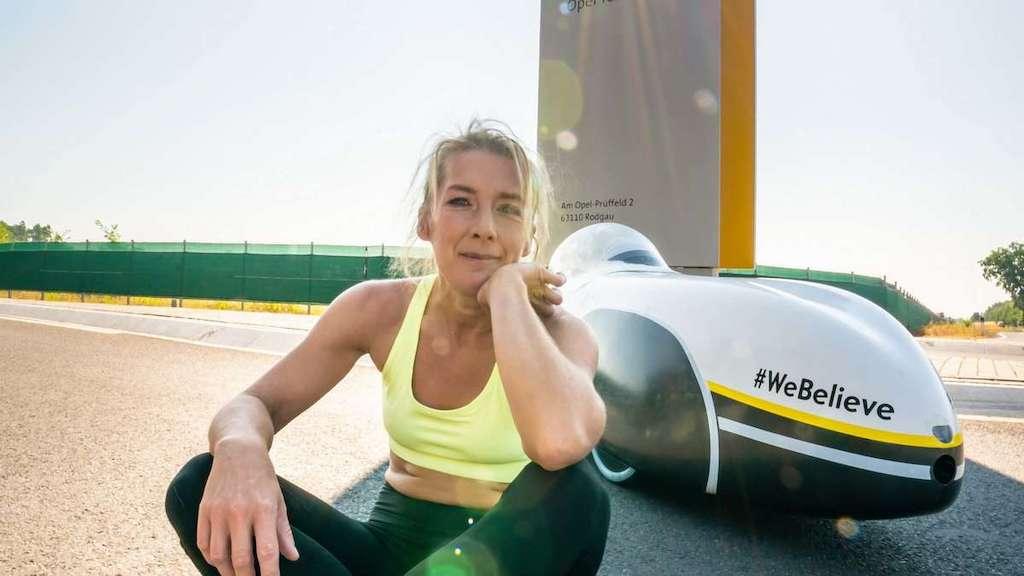 Nici Nicola Walde Weltrekord 24h Velomobil