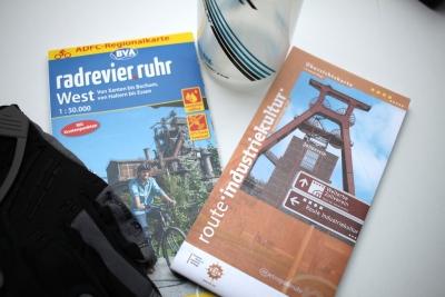 Fahrradkarten Radrevier_Ruhr Route_der_Industriekultur