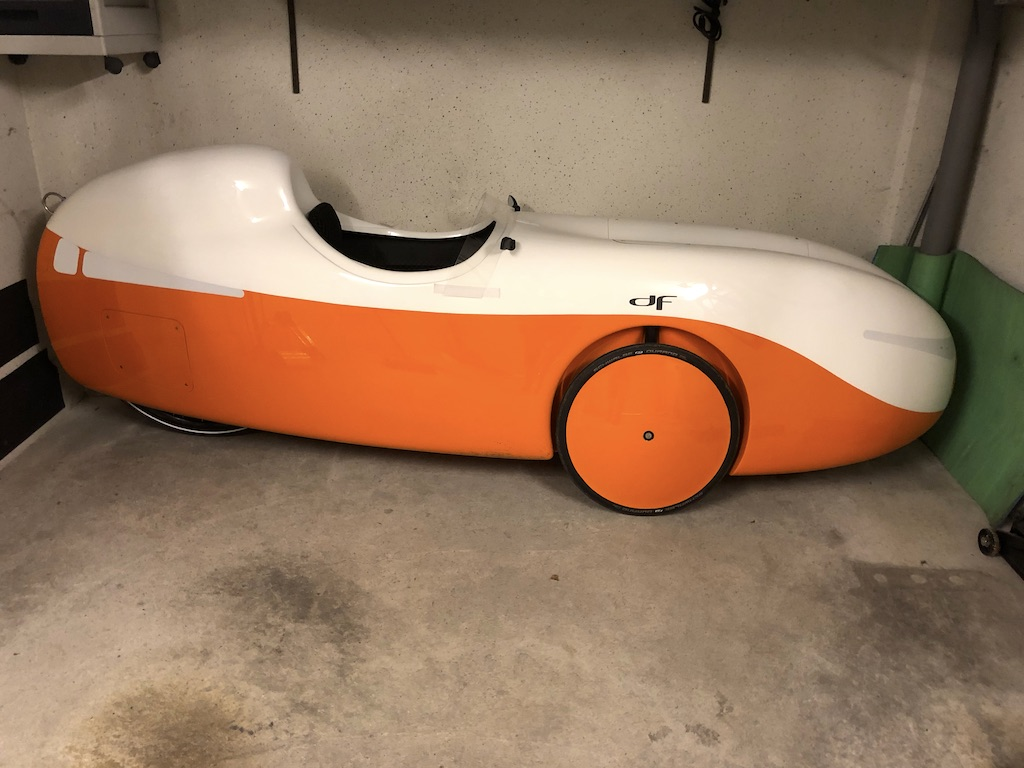 Velomobil DF Garage