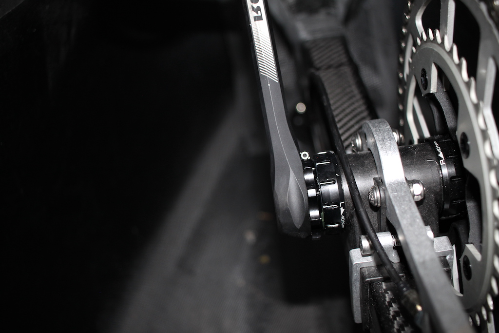 Velomobil DF Tretlager Kurbel Rotor