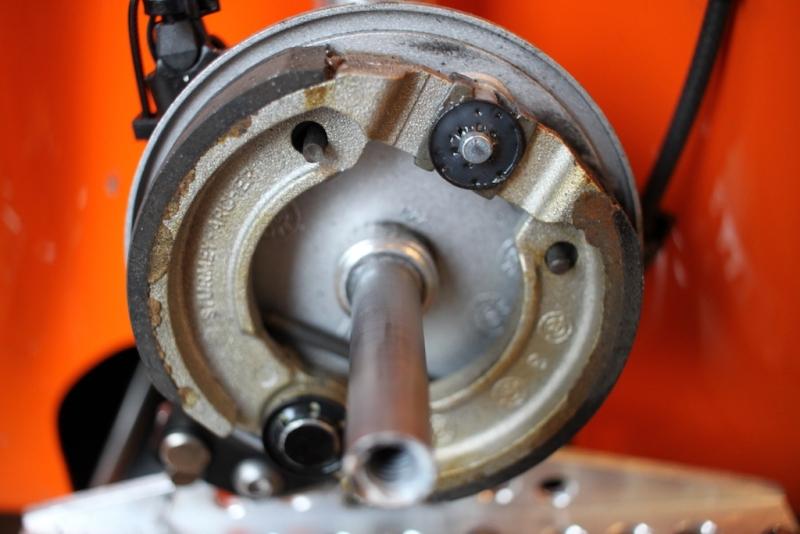 Velomobil DF Trommelbremse 90mm
