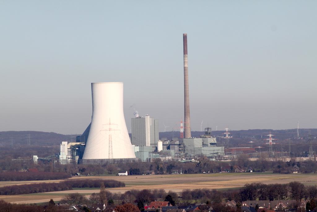 Geleucht Halde Rheinpreussen Kraftwerk Duisburg Walsum