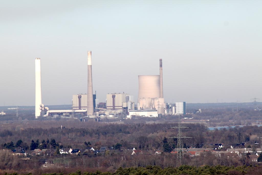 Geleucht Halde Rheinpreussen Kraftwerk Voerd
