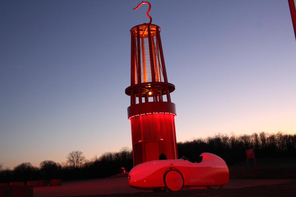 Geleucht Halde Rheinpreussen Rotlicht2