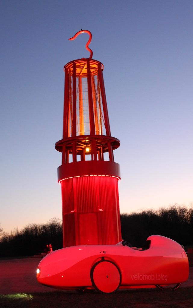 Geleucht Halde Rheinpreussen Rotlicht4