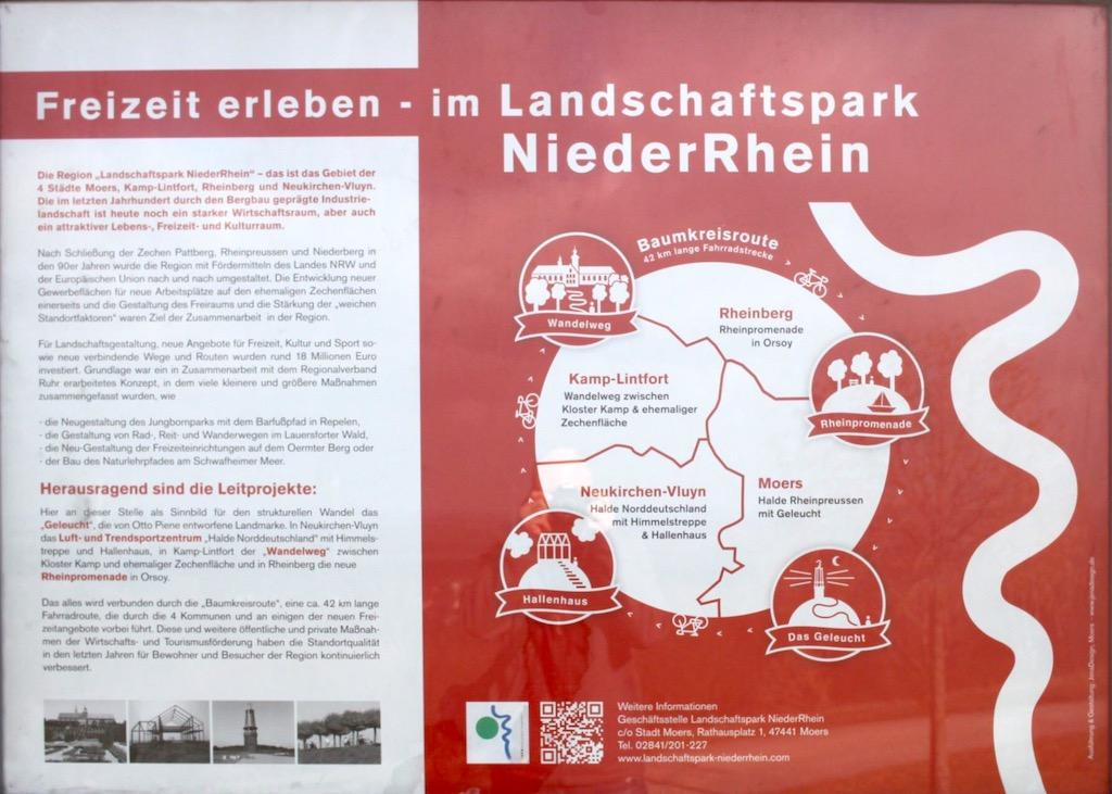 Das Geleucht Halde Rheinpreußen Infotafel 1