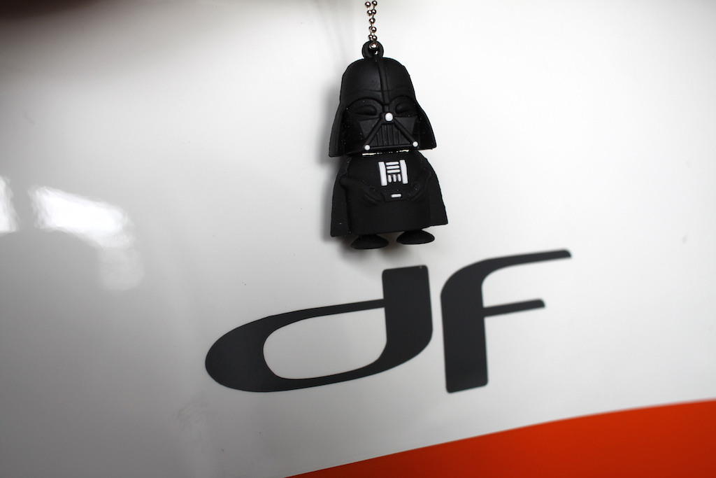 Velomobil DF Logo Vader