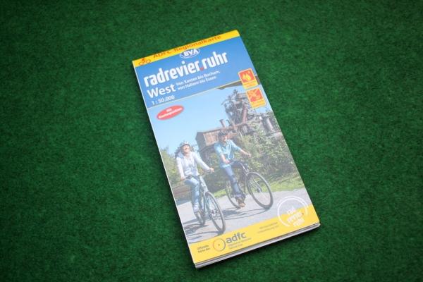 Fahrradkarte Radrevier Ruhr