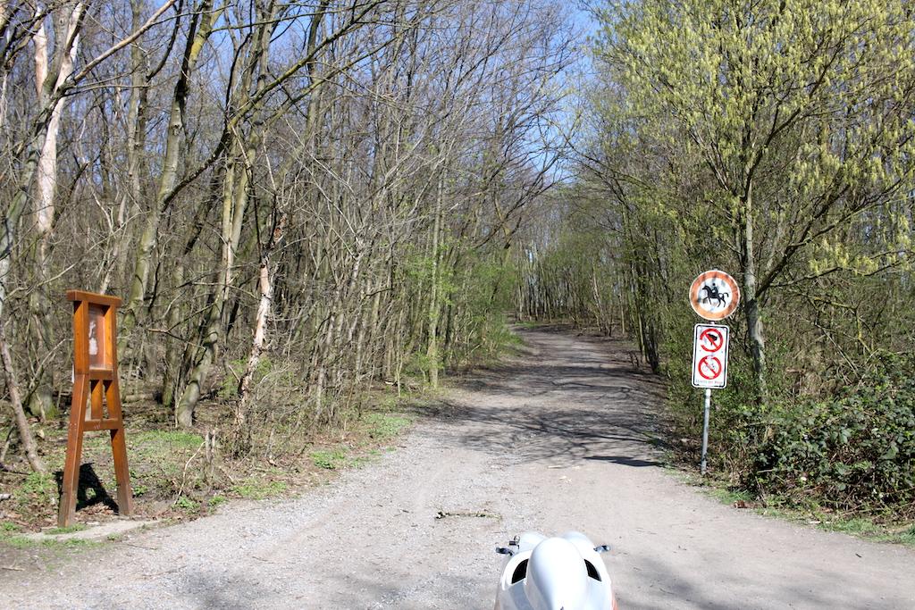 Halde Haniel Kreuzweg Start