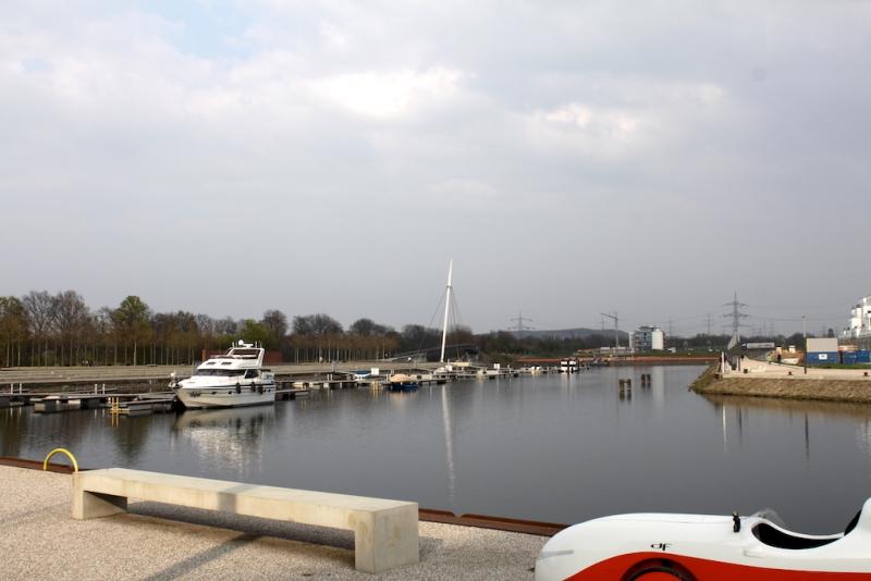 Hafen Graf Bismarck Rhein Herne Kanal