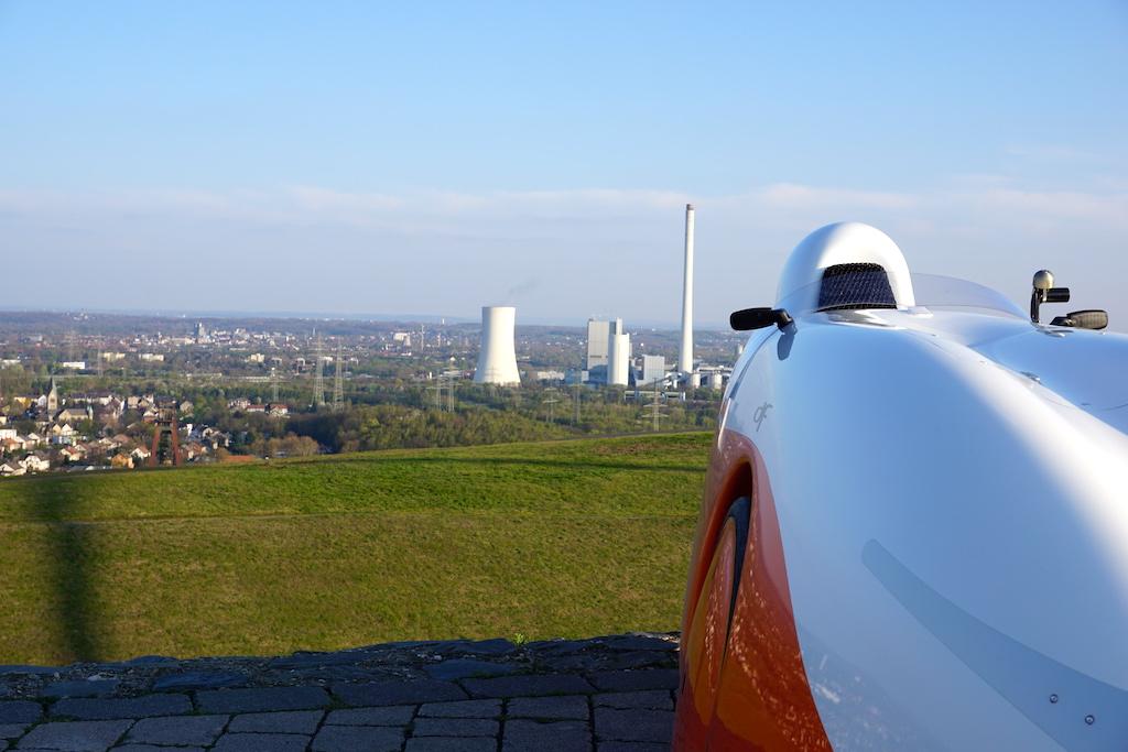 Halde Hoheward Aussicht Heizkraftwerk STEAG Herne