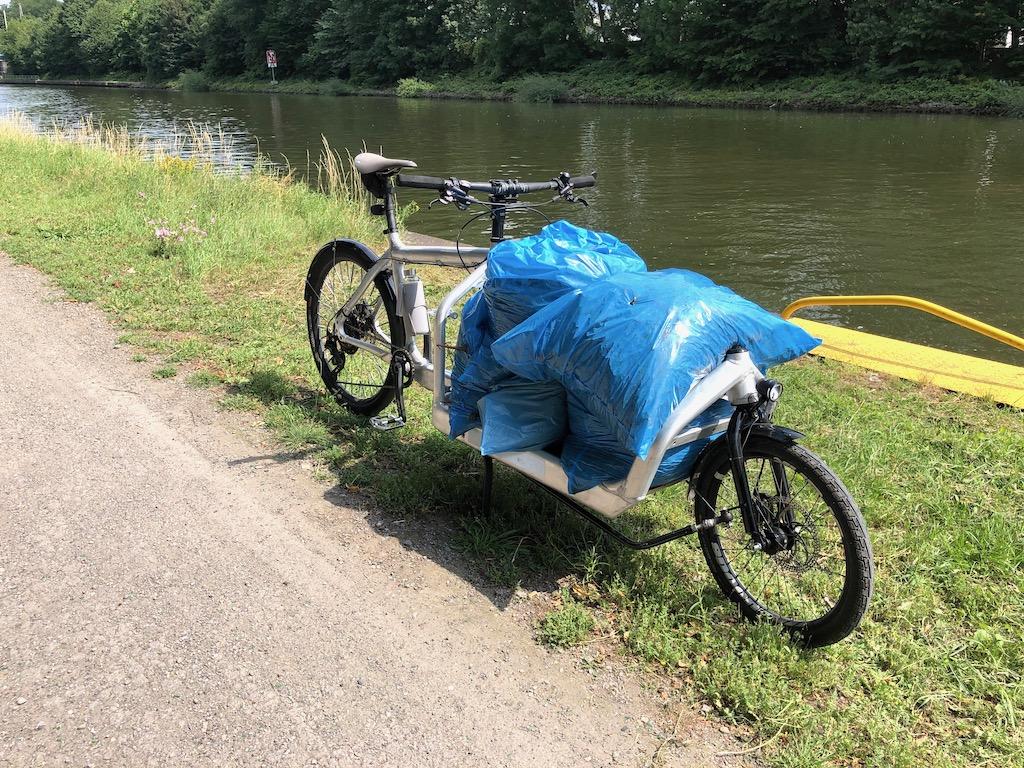 Bullitt Cargobike Wertstoffhof Grünschnitt