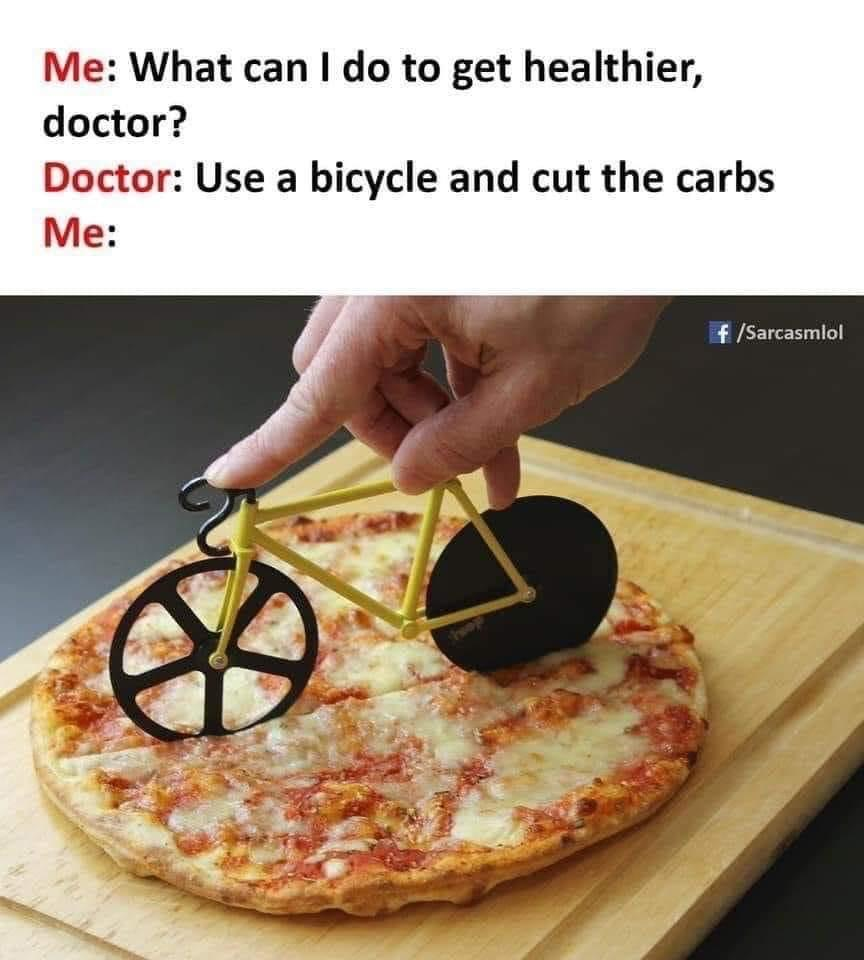 Cycling Fun Cut The Carbs