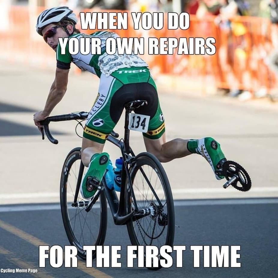 Cycling Fun Own repairs