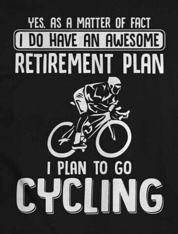 Cycling Fun Retirement Plan