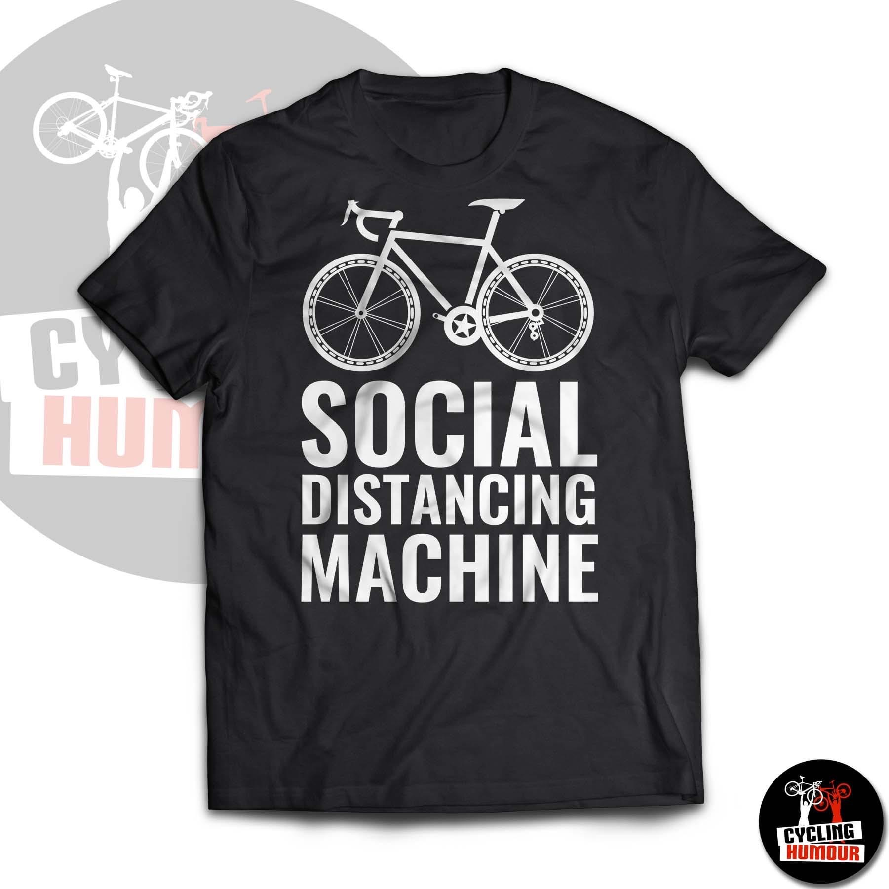 Cycling Fun Social Distancing machine