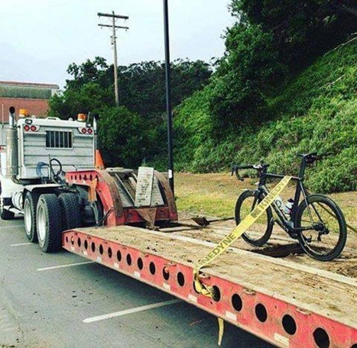 Cycling Fun heavy transportation