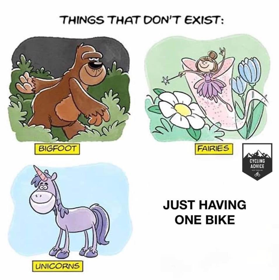 Cycling Fun things that don´t exist