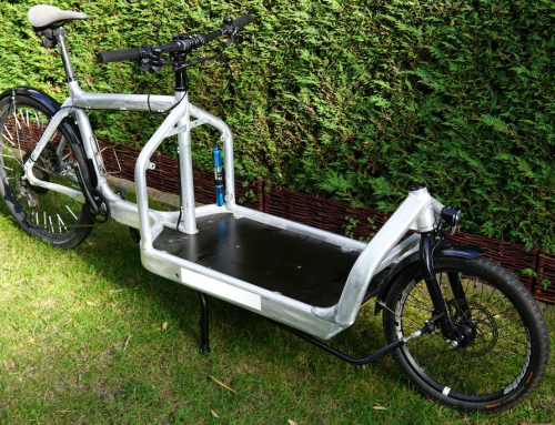 New family member: The Bullitt cargo bike