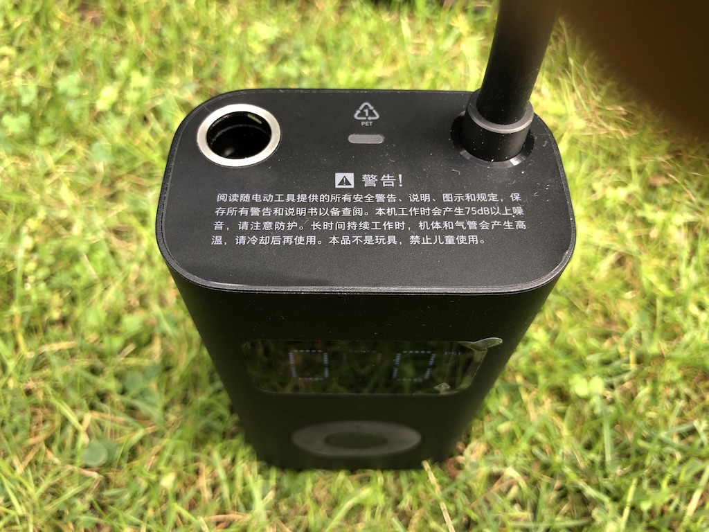 Review Xiaomi Mijia 1S Electric Portable Pump