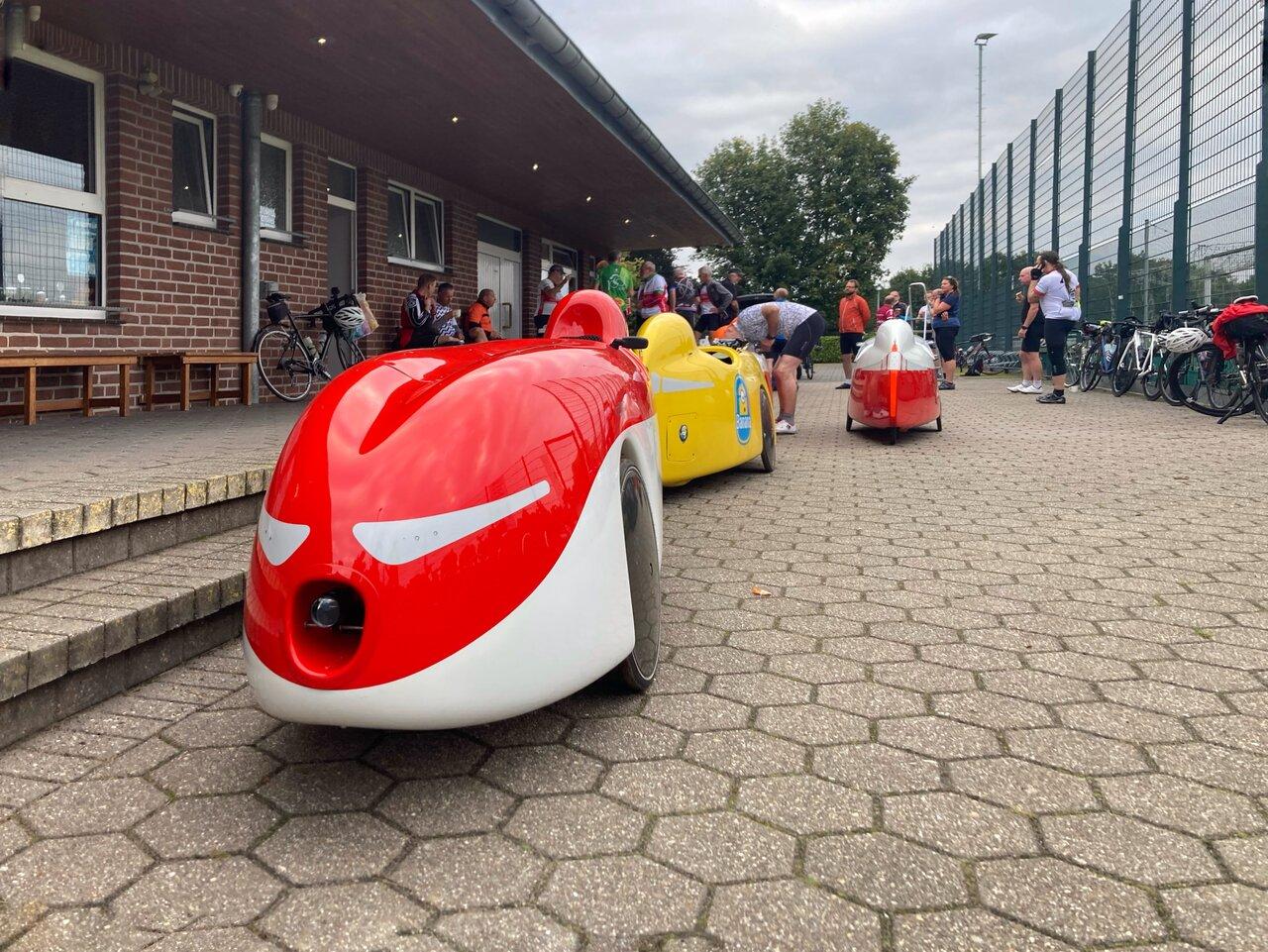Brevet ARA Niederrhein Twisteden Mühlentour Ankunft