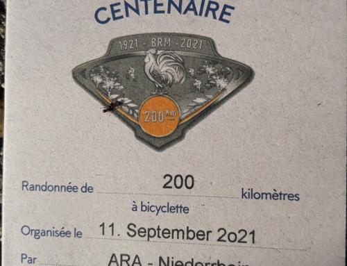 My premiere as a randonneur: First test over 200km (Brevet ARA Niederrhein)