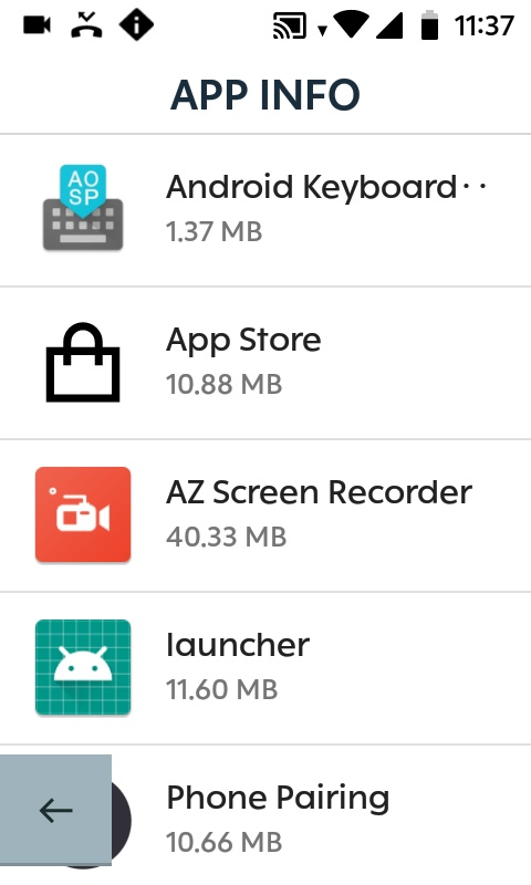 Karoo App Info