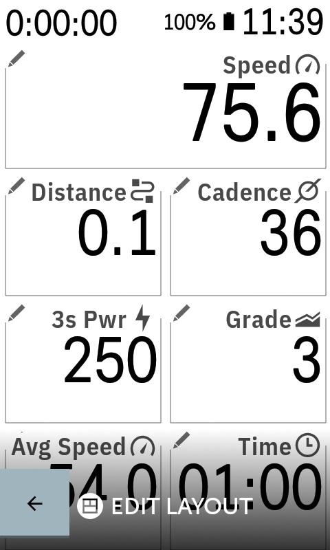 Karoo Settings Profiles Data Fields